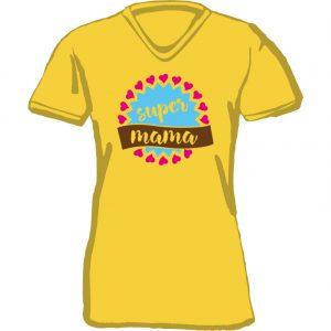 T-Shirt D Supermam gelb