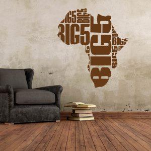 Wandtattoo Afrika Big 5