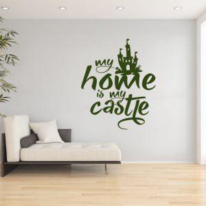 Wandtattoo my Home