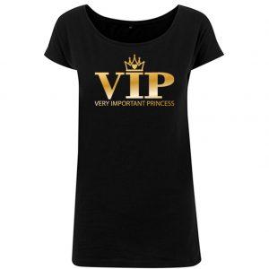 T-Shirt long D VIP schwarz