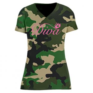 T-Shirt D Diva camouflage